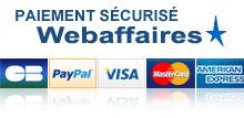 Logo du paiement sécurisé Webaffaires